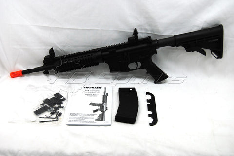 Tippmann Arms Airsoft Gun M4 Gas Blow Back 6mm Semi Full Auto Made in America Used Store Demo