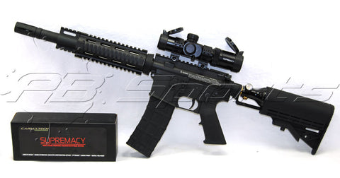 Cutlass Paintball Tiberius Arms T15 Carmatech Supremacy Scope Package - Cutlass