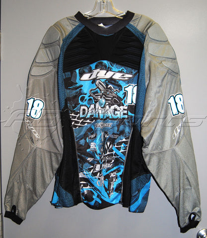 Used Dye Tampa Bay Damage C11 #18 SMITH Paintball Jersey