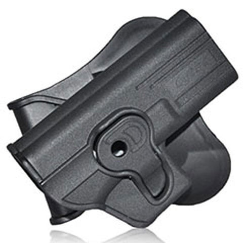 Cytac Thermal Mold Glock Airsoft Holster w/ Belt Attachment Option CY-GAG - Cytac
