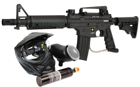 Tippmann U.S. Army Alpha Black Elite Edition Powerpack