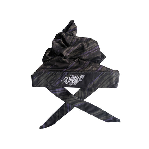 Virtue Padded Headwrap Graphic Purple - Virtue