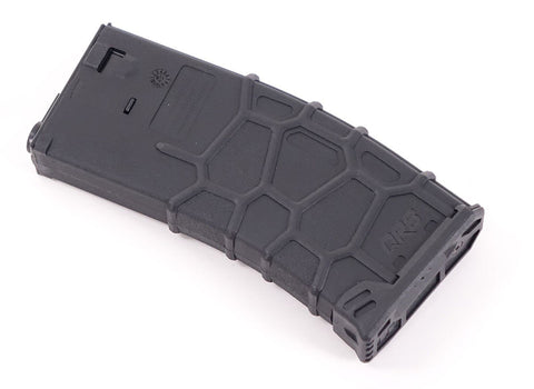 VFC QRS Polymer Magazine for M4 / M16 Series Airsoft AEGs 300rd Hi-Cap / Black - Elite Force