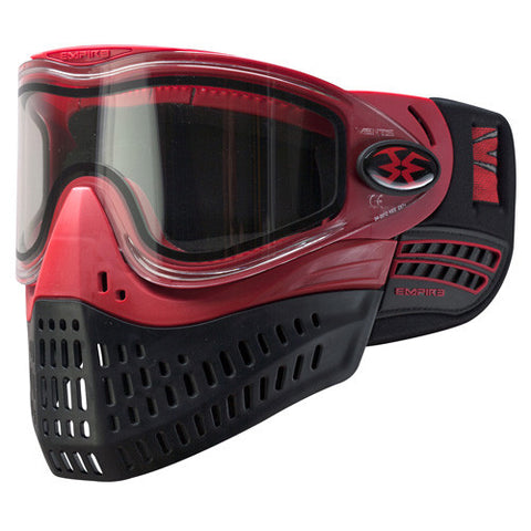 Empire E-Flex Thermal Goggle System - Red