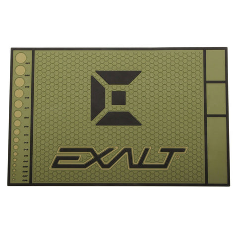 Exalt Paintball Tech Mat HD - Army Olive - Exalt