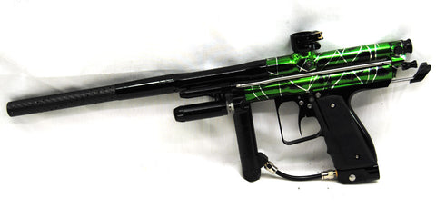 Inception Designs Retro FLE Autococker - Splash Green - RIP HINGE FRAME - Inception Designs