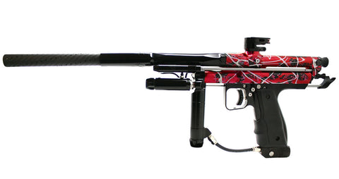 Inception Designs Retro FLE Autococker - Splash Red - Inception Designs