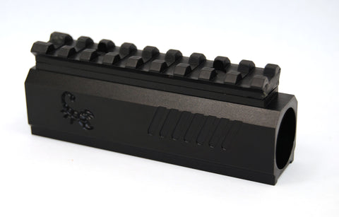 Lapco Front Block with Picatinny Rail for the Tippmann TiPX - Black