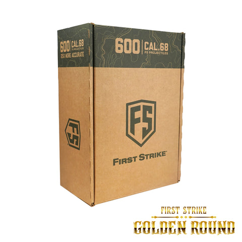 First Strike Rounds - 600ct - Smoke/Pink - Yellow (GOLDEN ROUND SWEEPSTAKES) - First Strike