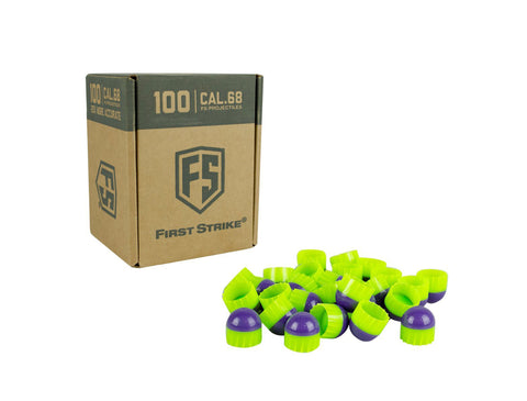 First Strike Rounds - 100ct - Purple/Green - First Strike