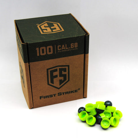 First Strike Rounds - 100ct - Smoke/Green - First Strike