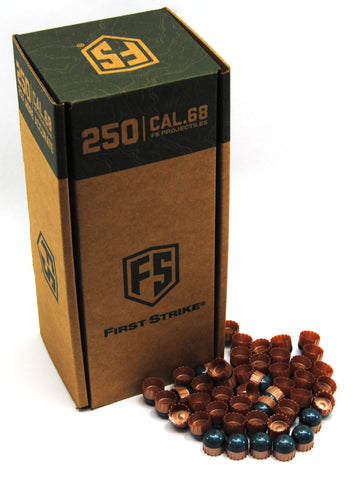 First Strike Rounds - 250 Round - Smoke/Copper-Blue