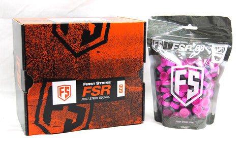 First Strike Rounds - 600 Count - Smoke/Pink - Pink - First Strike