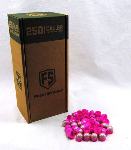 First Strike Rounds - 250 Round - Pink/Silver
