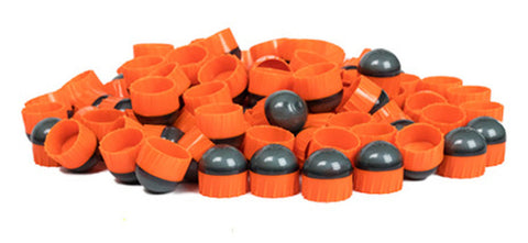 First Strike Rounds - 100 Count - Smoke/Orange - Orange - First Strike