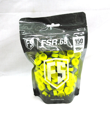 First Strike Rounds - 150 Count - Smoke/Yellow - Yellow - First Strike