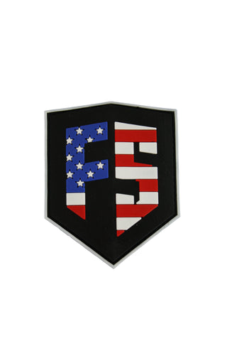 First Strike PVC Velcro Patch - 'Merica - First Strike
