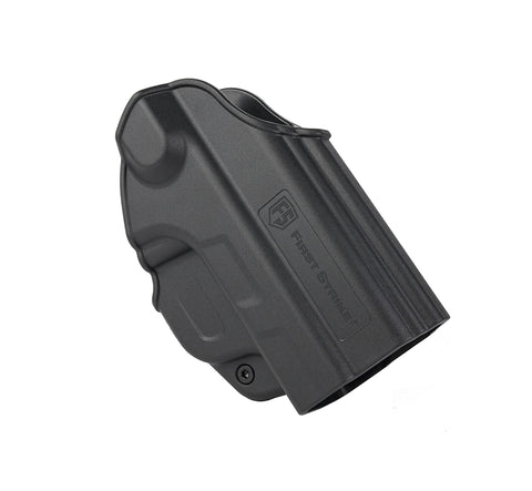 First Strike FSC Compact Pistol Holster w/ Paddle - Right Hand - First Strike