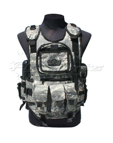 GxG Tactical Paintball Vest - ACU