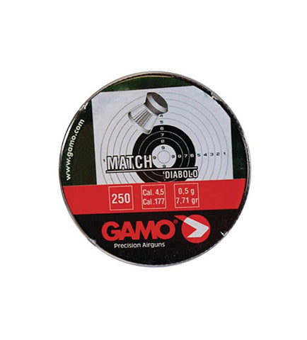 Gamo Match Pellets - .22cal - 250ct Tin