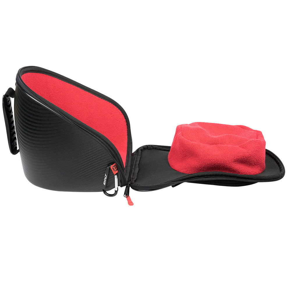 Red Exalt Paintball Carbon Loader//Tank//Goggle V3 Case Combo