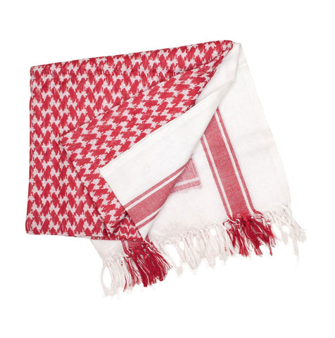 Valken Outdoor Gotcha Shemagh Scarf - Red/White - Valken Paintball