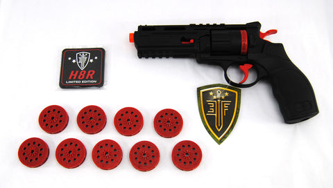 Elite Force Limited Edition H8R Gen II CO2 Revolver Airsoft Pistol - Black / Red - Elite Force