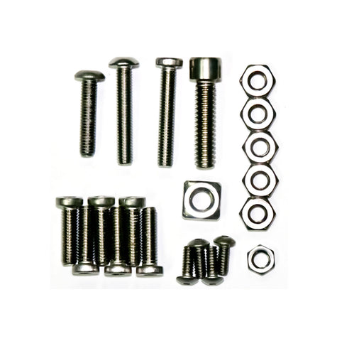 Lapco Tippmann 98 Custom Platinum Series Hardware Kit (Stainless Steel)