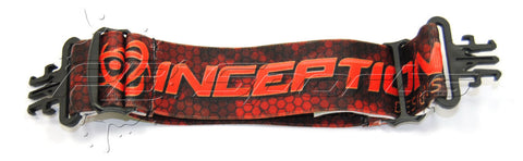 Inception Designs Goggle Strap fits GI Masks - Red