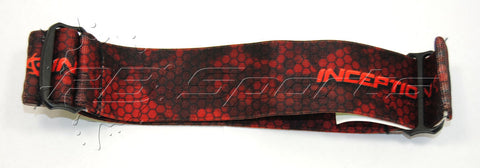 Inception Designs Goggle Strap fits JT Masks - Red
