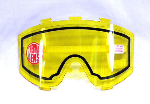 JT Elite Goggle System Replacement Lens - Thermal Yellow - JT