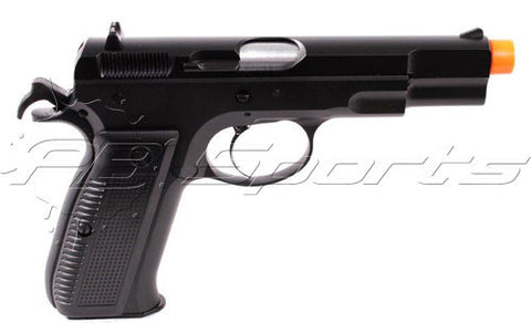 KJW CZ 75 KP-09 Airsoft Green Gas Blowback Pistol - Valken