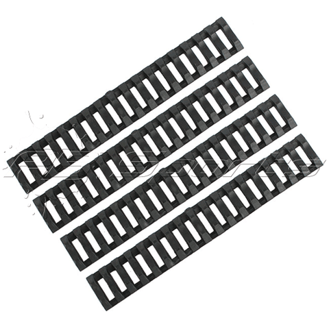 Killhouse Ladder Rail Cover System for 20mm Rail Systems (Black)
