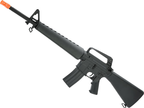 CYMA Full Size M16A1 / M16 Vietnam Full Metal Airsoft AEG Rifle - Black - Evike