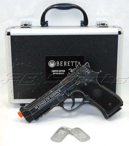 Elite Force Beretta M92 A1 Limited Edition Airsoft CO2 Blow Back Pistol w/ Case