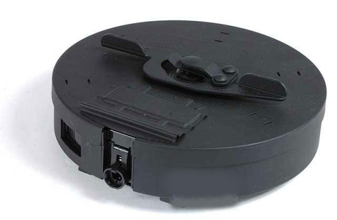 Cybergun 450 rd Hi-Cap Drum Magazine for Tokyo Marui Compatible Thompson Series Airsoft AEG - Evike