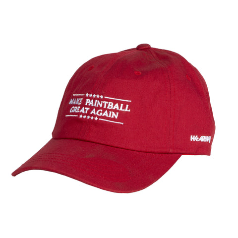 HK Army - Dad Hat - Make Paintball Great Again - Red - HK Army