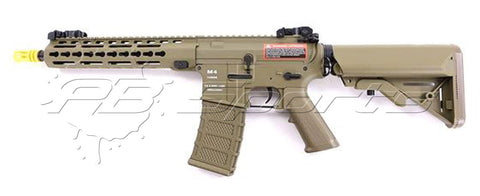 Classic Army NF003P-DE Airsoft M4 KM10 Keymod Skirmish Nylon Fiber Dark Earth AEG