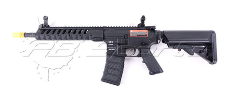 Classic Army NF005P Airsoft M4 Delta 10 Skirmish Nylon Fiber Black AEG - Classic Army