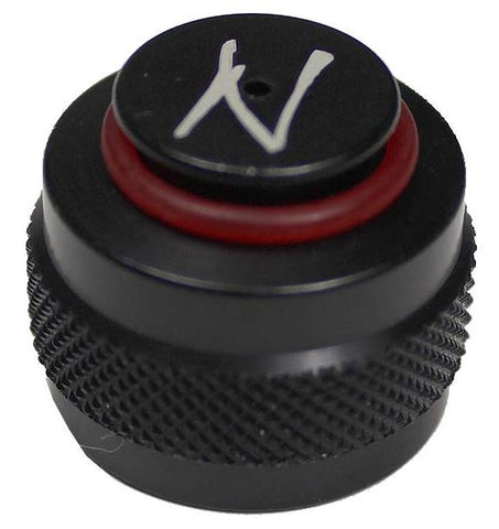 Ninja Aluminum Thread Protector - Black w/ 015-90 O-Ring - Ninja Paintball