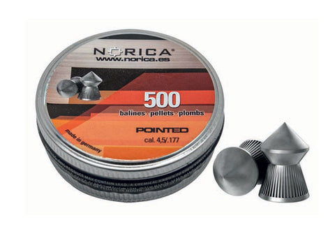 Norica Pointed 0.177 Airgun Pellets