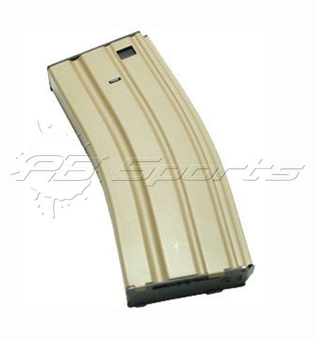 Classic Army CA P029M Airsoft M4 Metal Magazine 300rd High Capacity - Dark Earth