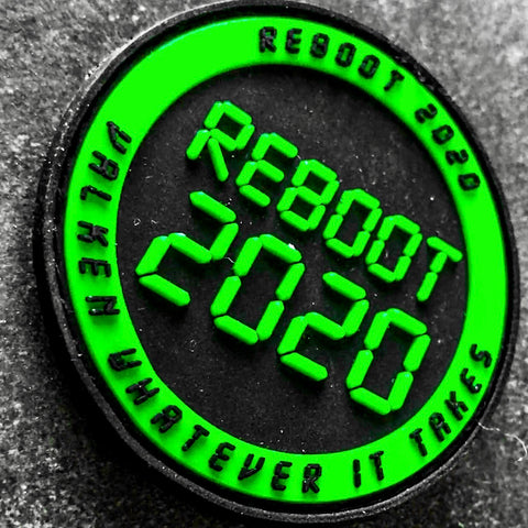 "Valken Tactical Airsoft Paintball ""Reboot 2020"" Patch - Valken Airsoft"