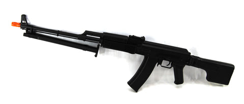 LCT Stamped Steel RPKS74MN RPK EBB AEG Airsoft Rifle w/ Polymer Folding Stock - Evike
