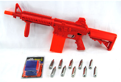 Umarex Rekt OpFour Co2 Powered Dart Rifle Bundle - Red - Umarex
