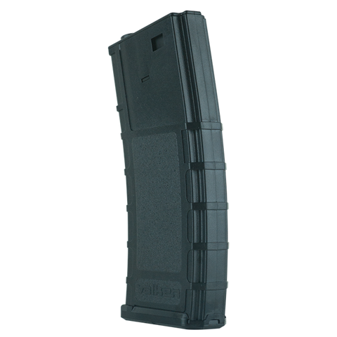 Battle Machine Hi-Cap M4 Airsoft Thermold Magazine 300rd High Capacity - Black - Valken