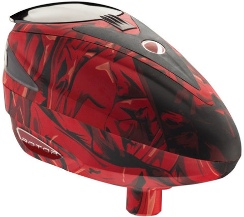 Dye Rotor Cloth Red