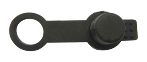 Rubber Fill Nipple Cover - Black - Cutlass