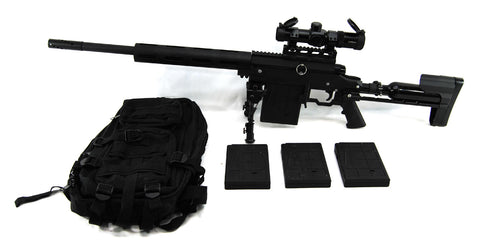 Used Carmatech SAR-12C Paintball Sniper w/ Supremacy Scope - Carmatech