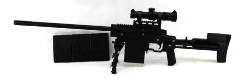 Carmatech Engineering SAR12C Sniper Rifle Kit w/ Supremacy Scope NEMESIS - Carmatech